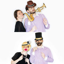 Load image into Gallery viewer, Roaring 20s Photo Booth Props - 25 Count