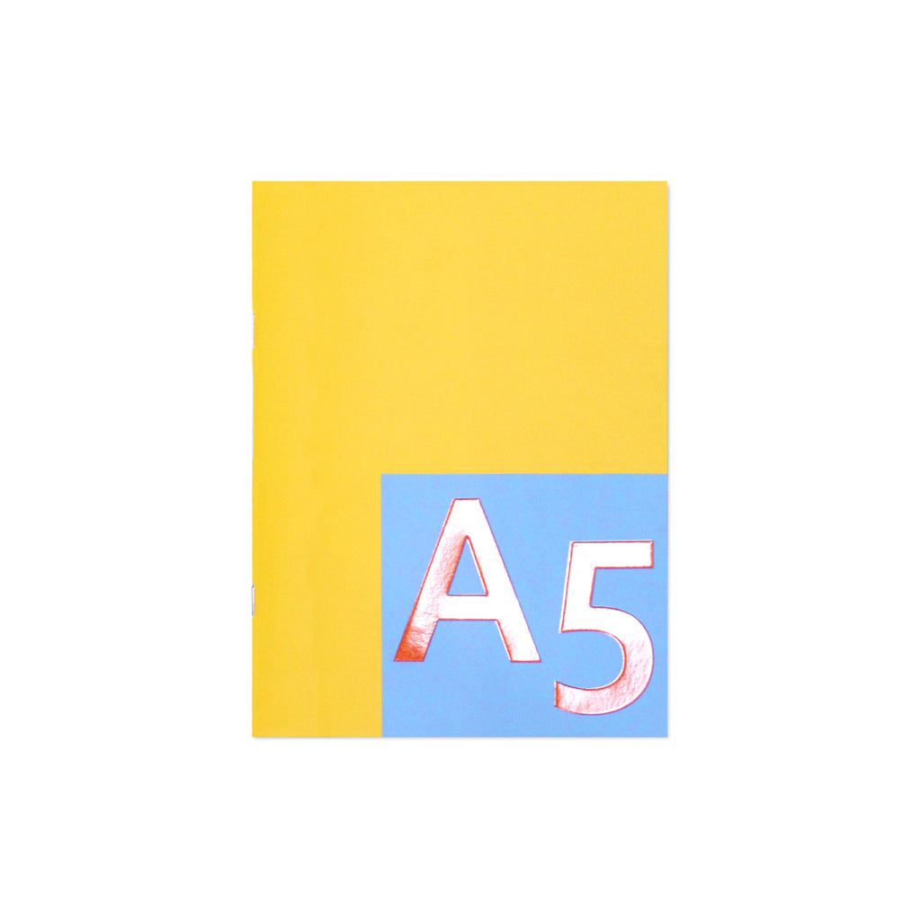 ALT Water resistant Notebook A5 - Citrus & cielo
