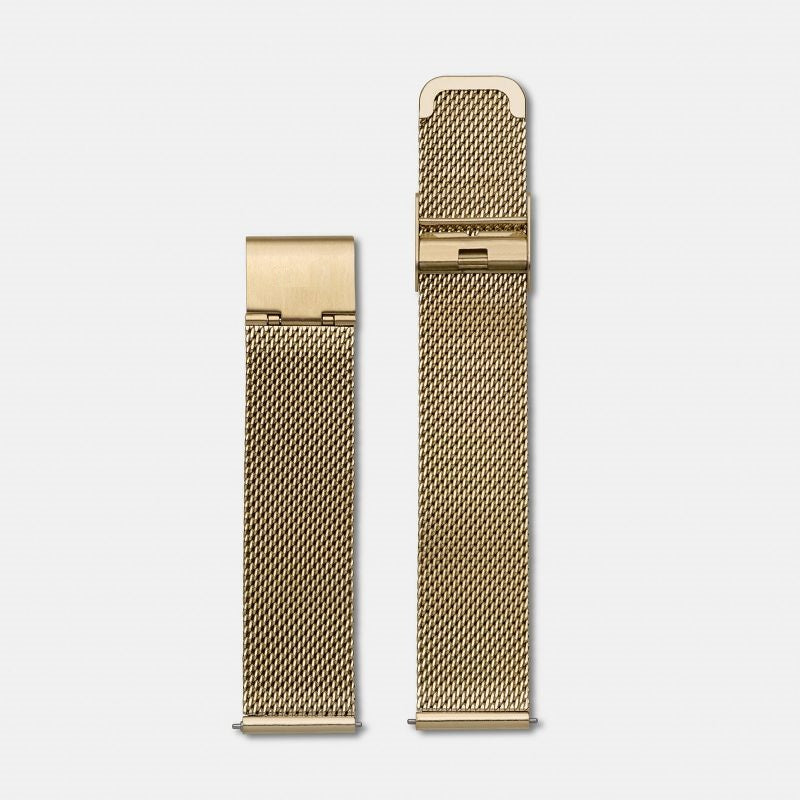 Gold Mesh Watch Band