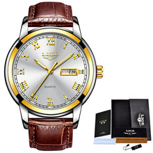 LIGE Mens Luxury Watch