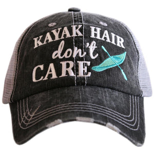 Kayak Hair Don't Care Trucker Hat