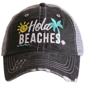 Hola Beaches Trucker Hat