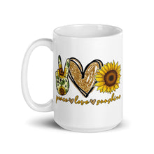 Peace • Love • Sunshine Mug