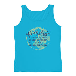 Wanderlust World Ladies' Tank