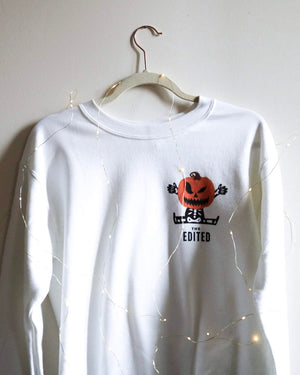 The White Halloween Sweatshirt
