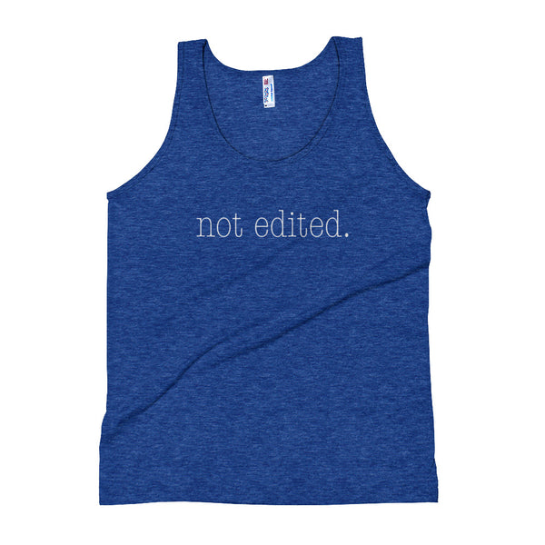 The Not Edited Tank Top