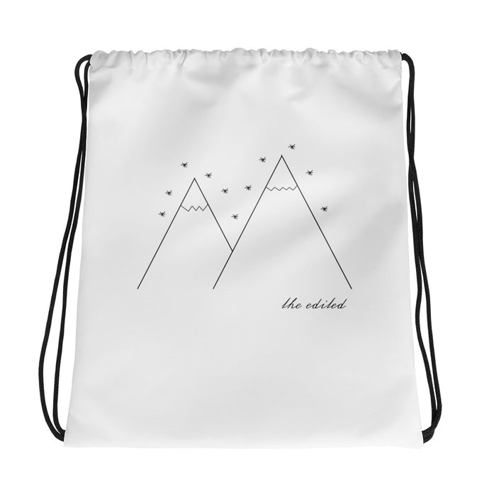 The North Drawstring bag
