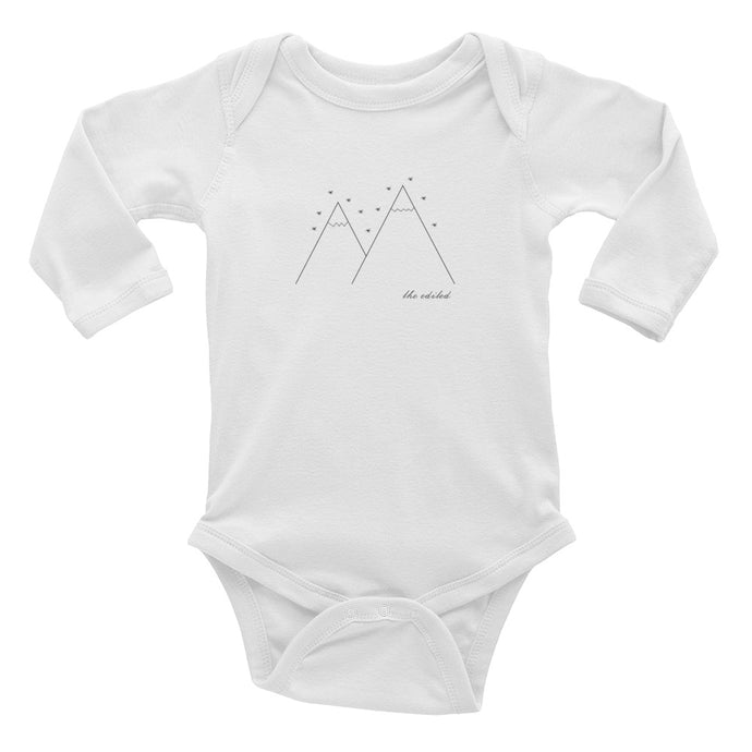 The North Long Sleeve Baby Onesie