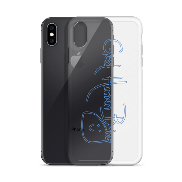 God Human Being iPhone Case