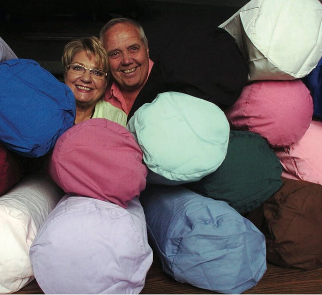 COUPLE TURN SLEEPING PROBLEMS INTO SUCCESSFUL PILLOW COMPANY