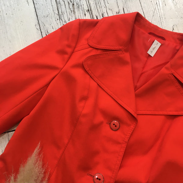 Vintage Post Box Red Jacket - Size M