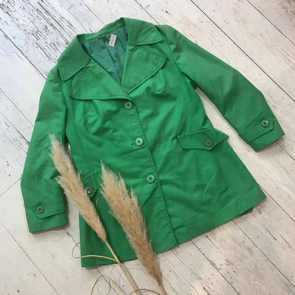 SALE - Vintage Bright Green Jacket  - Size M/L