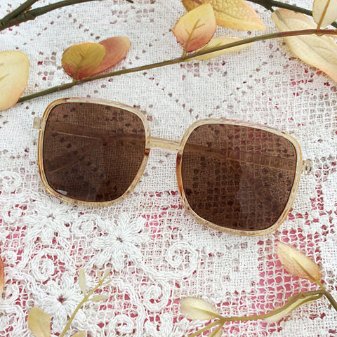 Topaz Square Sunglasses