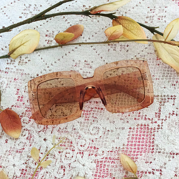 Chunky Almond Sunglasses