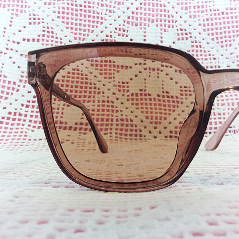 Oversized Square Almond Sunglasses