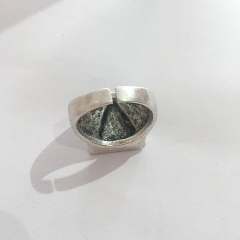 Silver Plated Eye of Providence Ring
