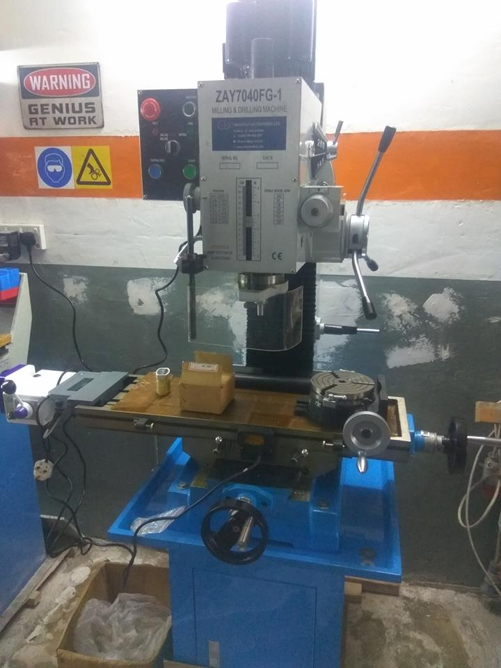 Wide range of milling machines