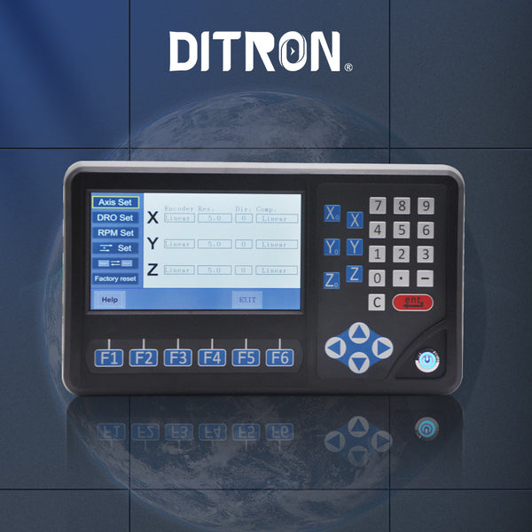LCD multi function 3 Axis DRO display unit