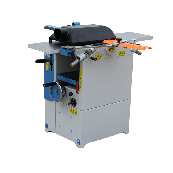 Wood surface planer and thicknesser machine