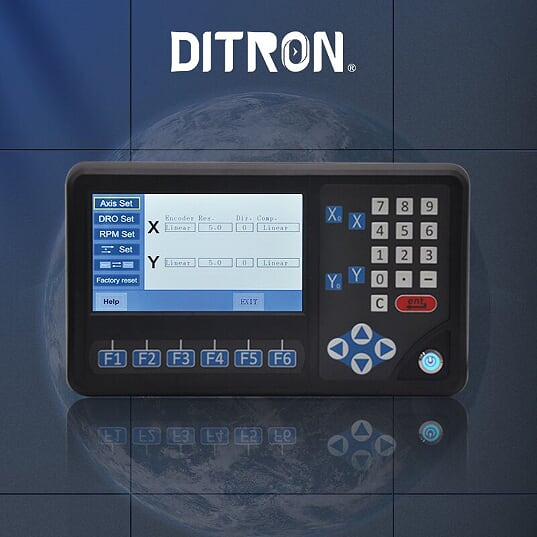 LCD multi function 2 Axis DRO display unit