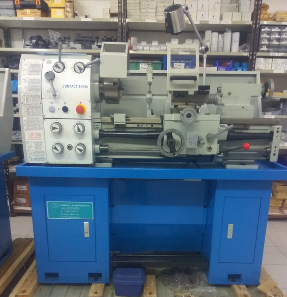 Gear head gap bed lathe 300 x 750mm
