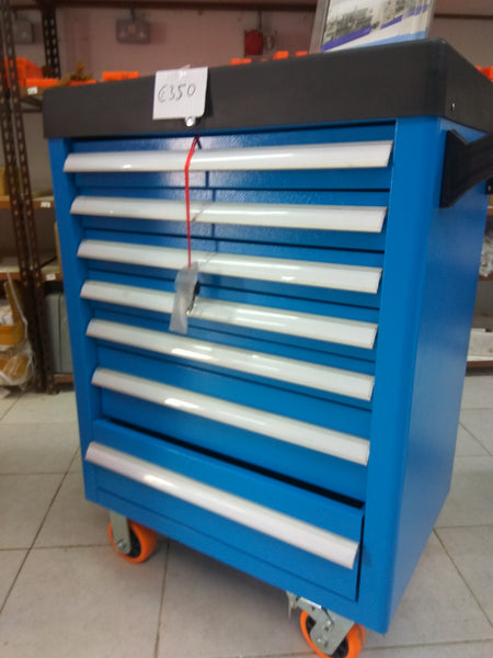 Heavy duty 7 drawer tool cabinet