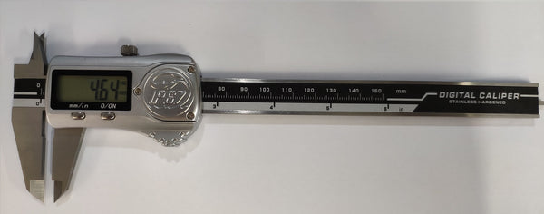 Metal case digital caliper 150mm