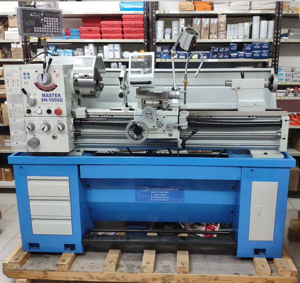 Gear Head gap bed lathe MASTER SH-1000G