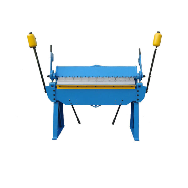 Heavy duty pan and box sheet metal bending machine