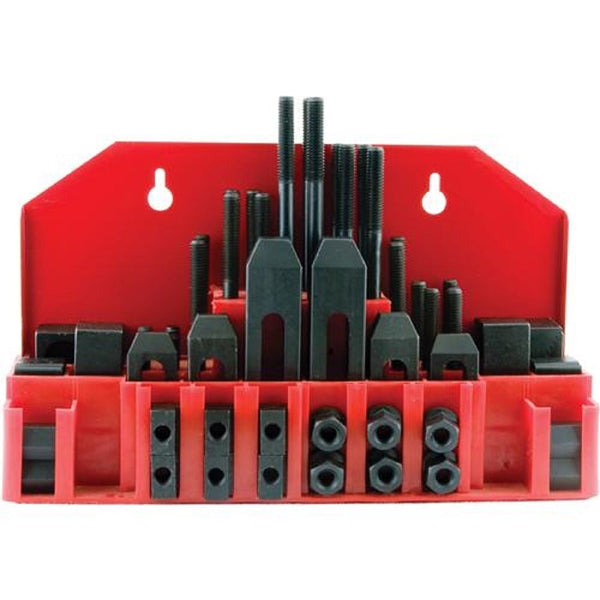 58pc clamping tool set 12mm studs thread x 14mm tee nuts