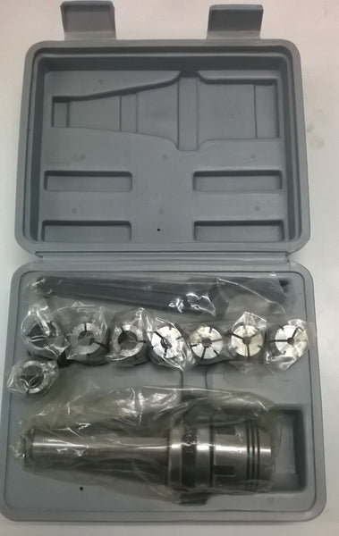 Collet chuck set with collets