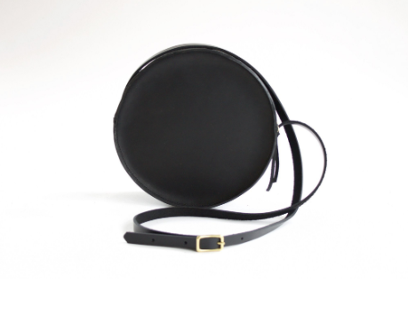 The Marina Circle Bag | Black