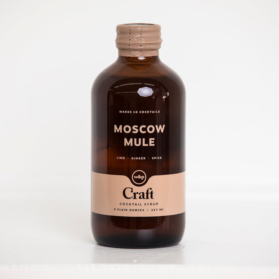 Moscow Mule Syrup