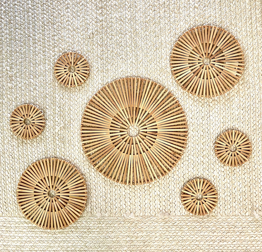 Soleil Bamboo Coaster Set of 4