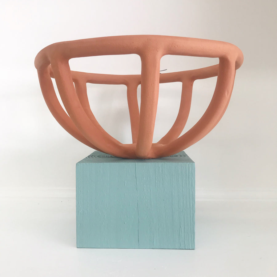 Prong Fruit Bowl | Terra-cotta