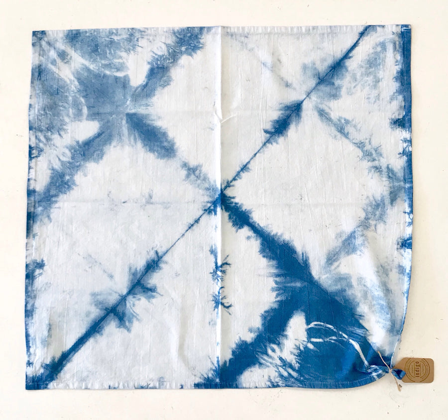 Indigo Dyed Tea Towel