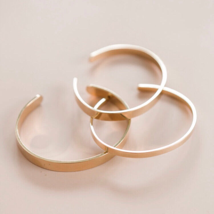 Gold Band Cuffs