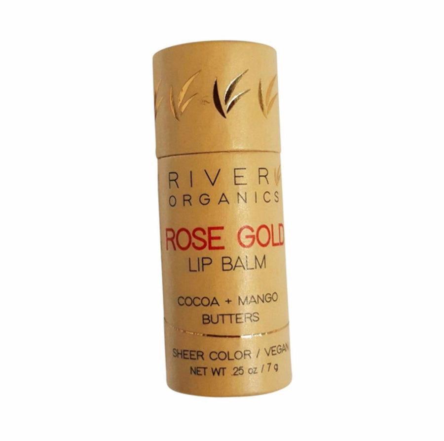 Rose Gold Vegan Lip Balm