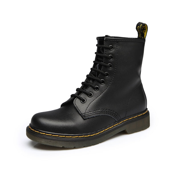 Winter Military Black Boots Men Shoes - ShoePacker