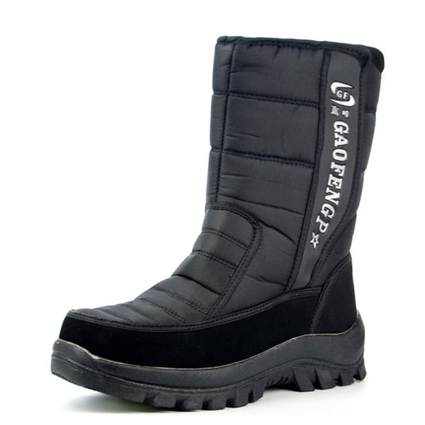 Men Boots winter shoes waterproof snow boots - ShoePacker