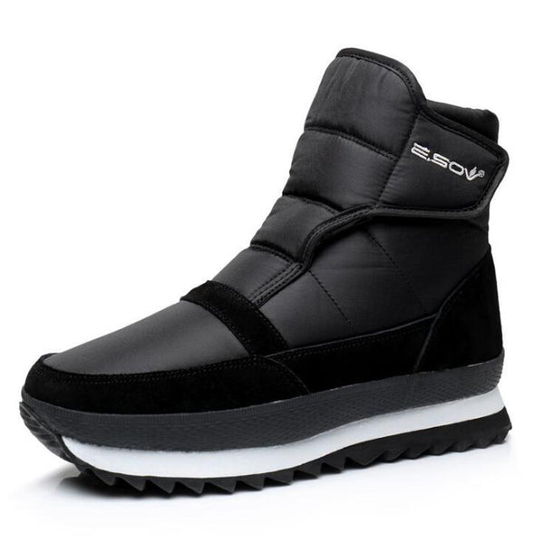 Winter Shoes Men Ankle Boots Waterproof Non-slip - ShoePacker