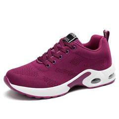 Women sneakers breathable flats shoes