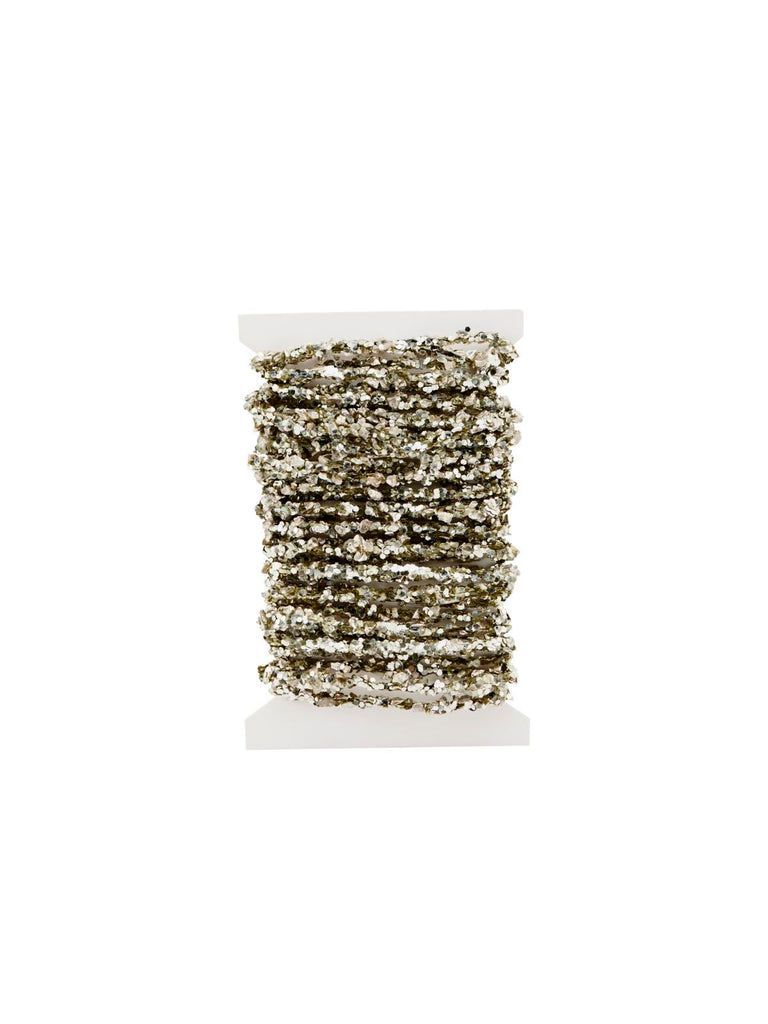 Joy Glitter and Sequin Giftwrap String