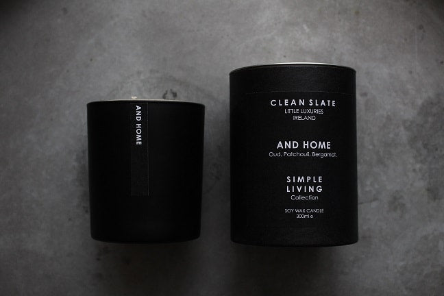 Clean Slate Scented Candle And Home