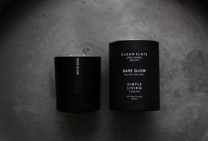 Clean Slate Scented Candle Bare Glow
