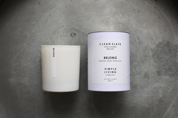 Clean Slate Scented Candle Belong