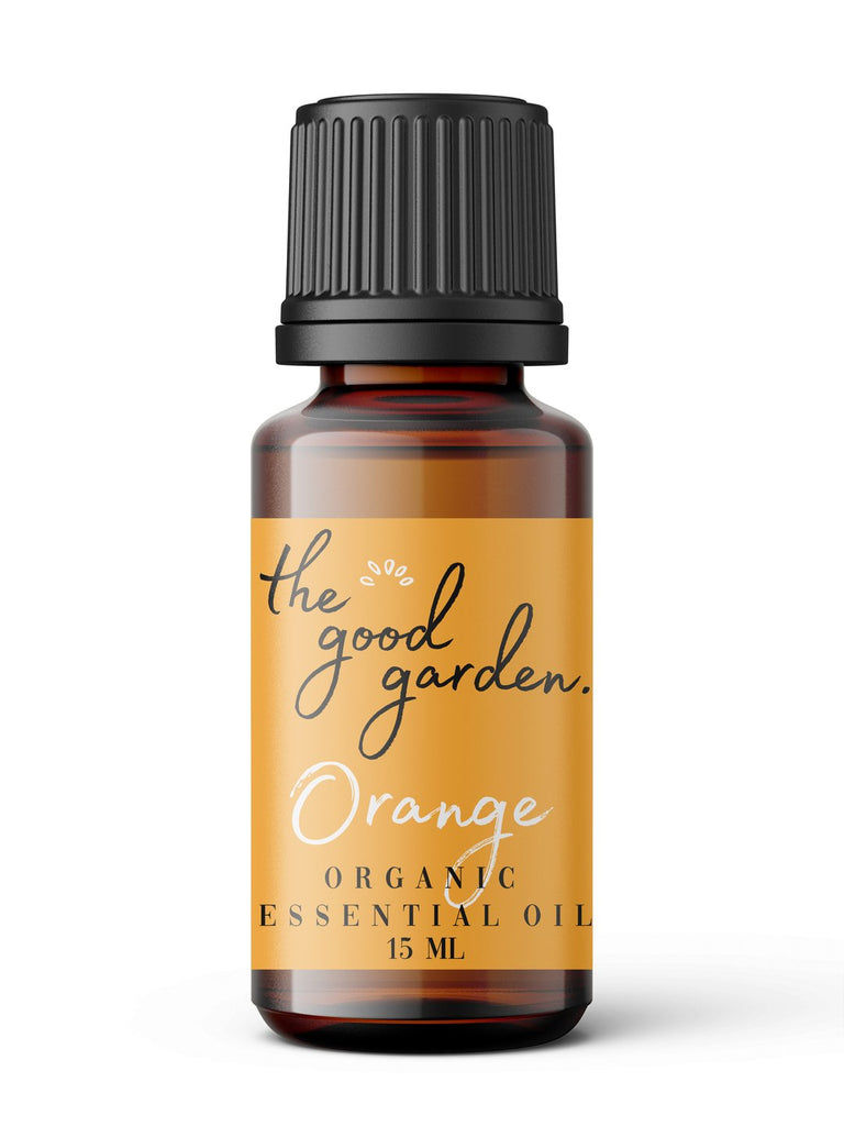 Organic Orange Essential Oil The Good Garden