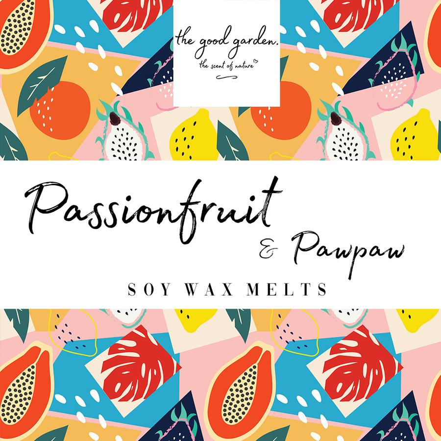 Passionfruit & Pawpaw Soy Wax Melts