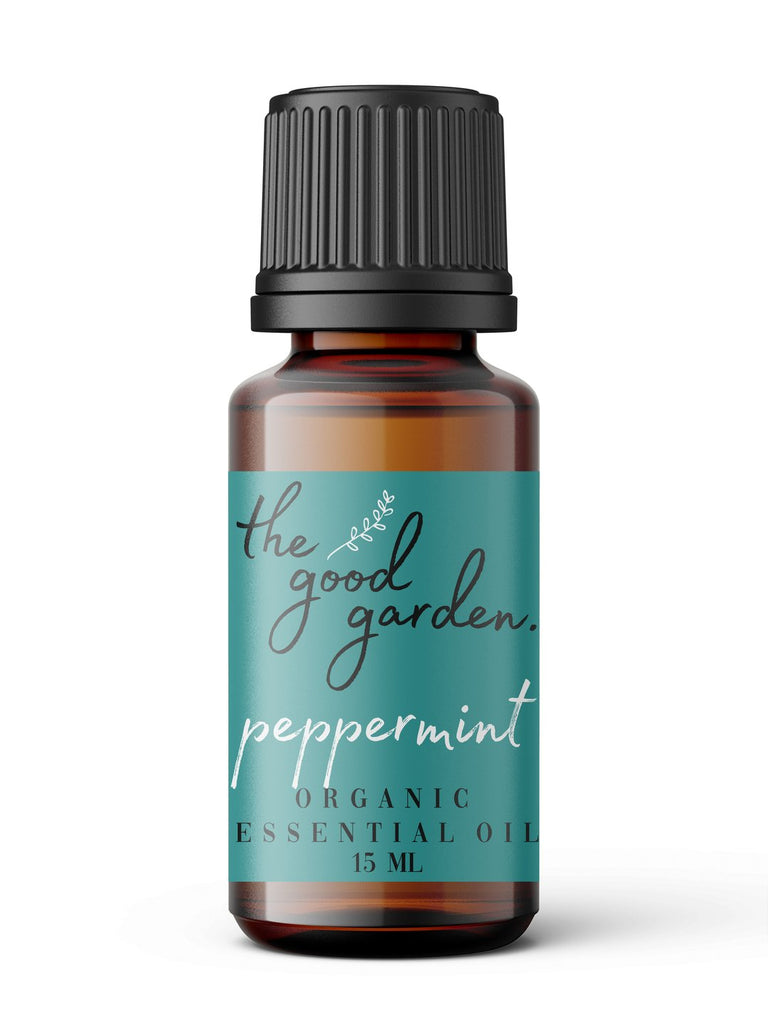 Organic Peppermint Essential Oil The Good Garden