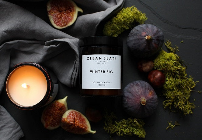 Clean Slate Scented Candle Winter Fig